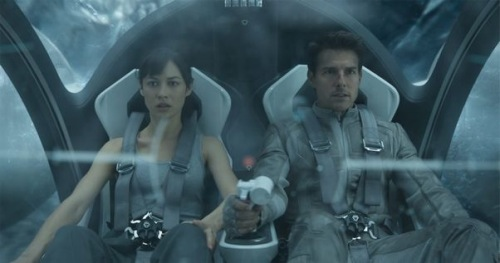 One Big Scene: Which 'Oblivion' Sequence Had Us Thinking Of
