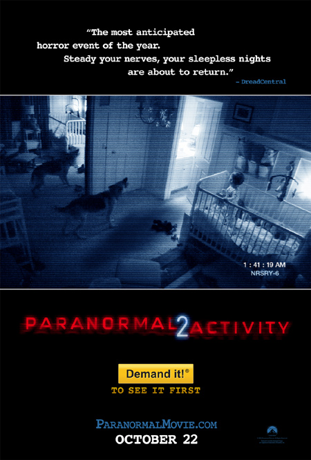'Paranormal Activity 2' poster premiere!