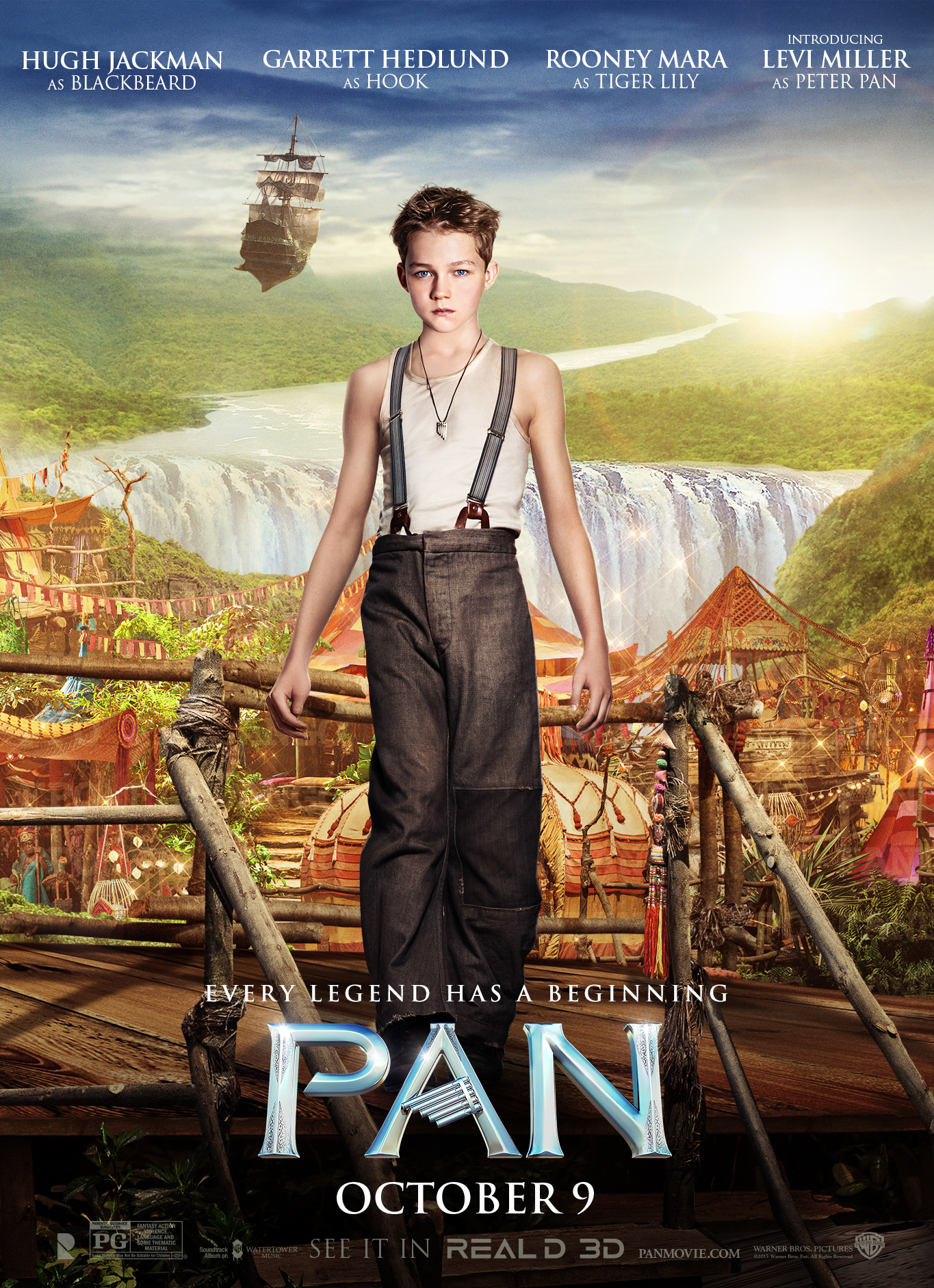 New movie peter pan