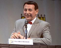 PeeWee Herman at Comic-Con.