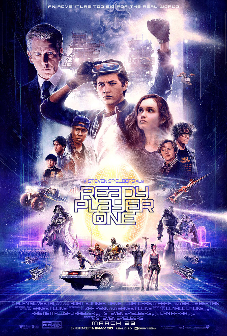 Ready Player One poster art