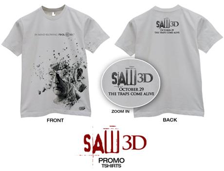 'Saw 3D' T-shirt