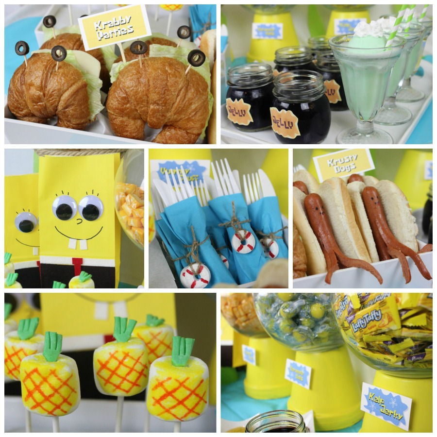 Spongebob Party Food Ideas