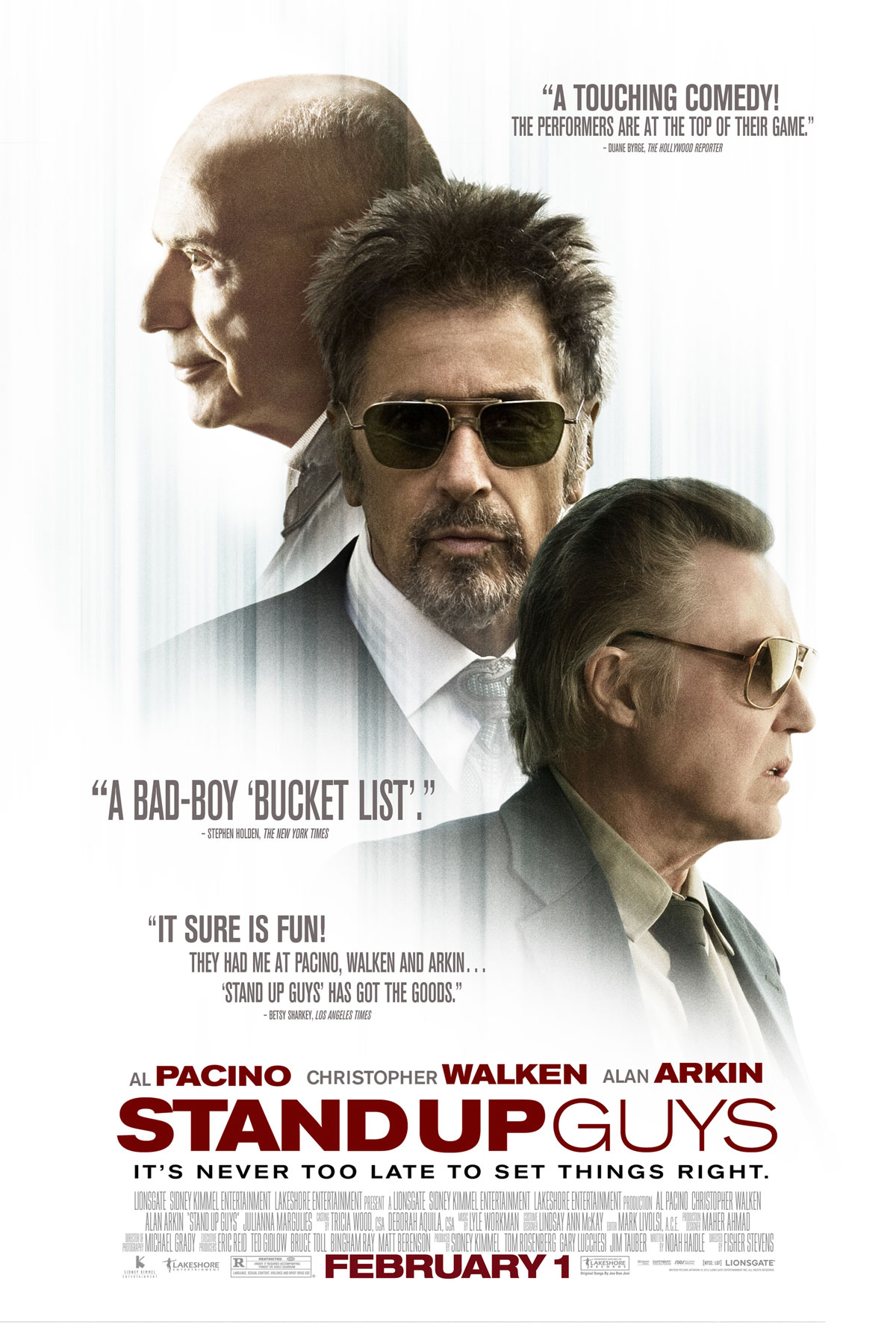 EXCLUSIVE: Pacino, Walken, Arkin are 'Stand Up Guys' in ...
