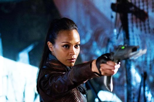 Cine Latino: Zoe Saldana, on her Sexuality, Posing Nude and Trekkie Trivia (Video)...