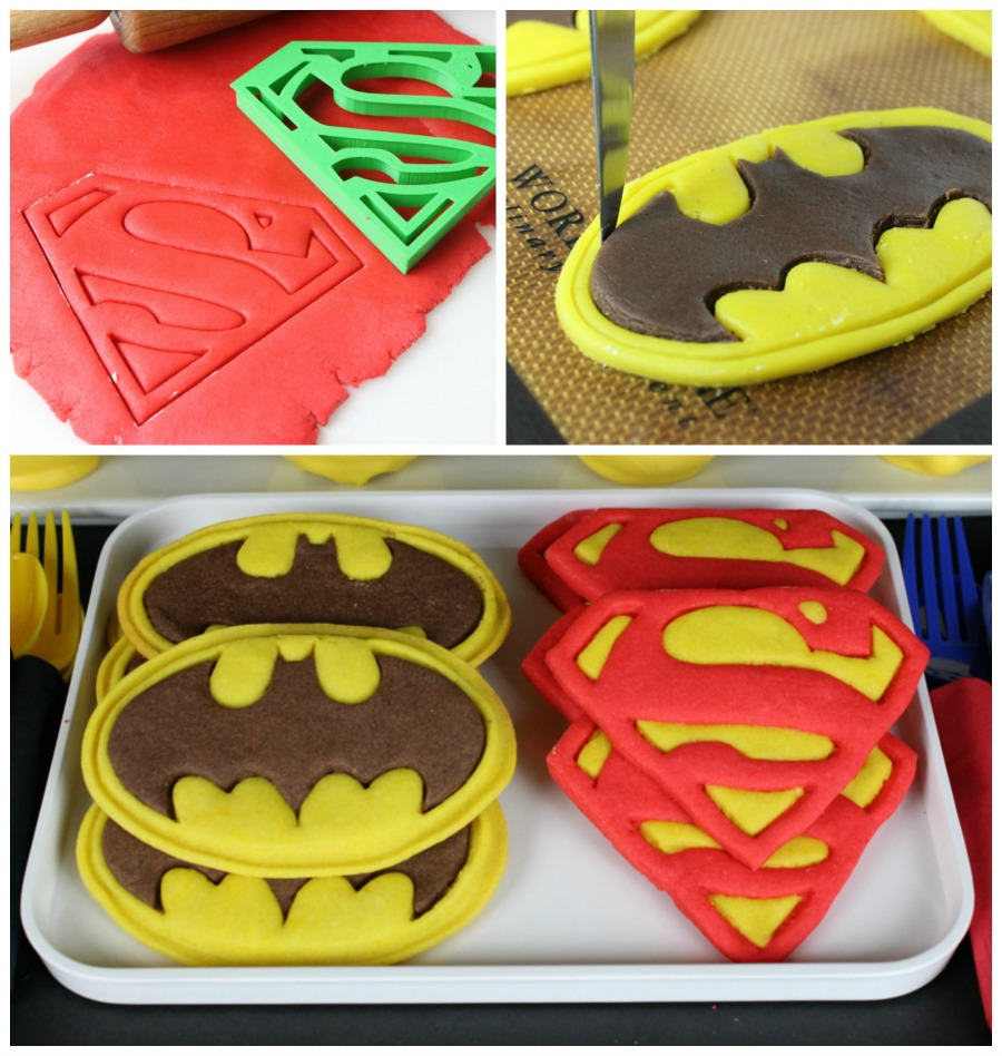 Superman Cookie//Icing Cutter