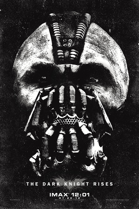Exclusive: 'The Dark Knight Rises' IMAX 12:01 Poster Premiere!