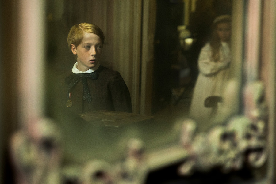 Oliver Zetterstrom in The Little Stranger