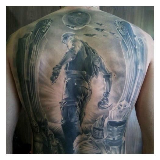 Got ink 35 tattoos inspired by 39 riddick 39 and hollywood for Twilight movie tattoo