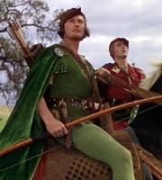 Errol Flynn in 'The Adventures of Robin Hood'