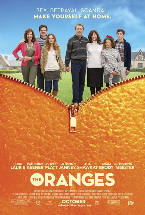 Exclusive: 'The Oranges' Poster Premiere!
