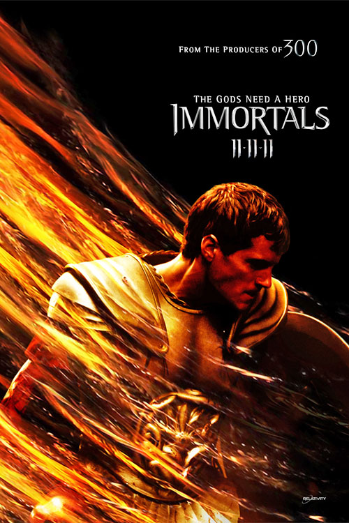 The Immortals Poster