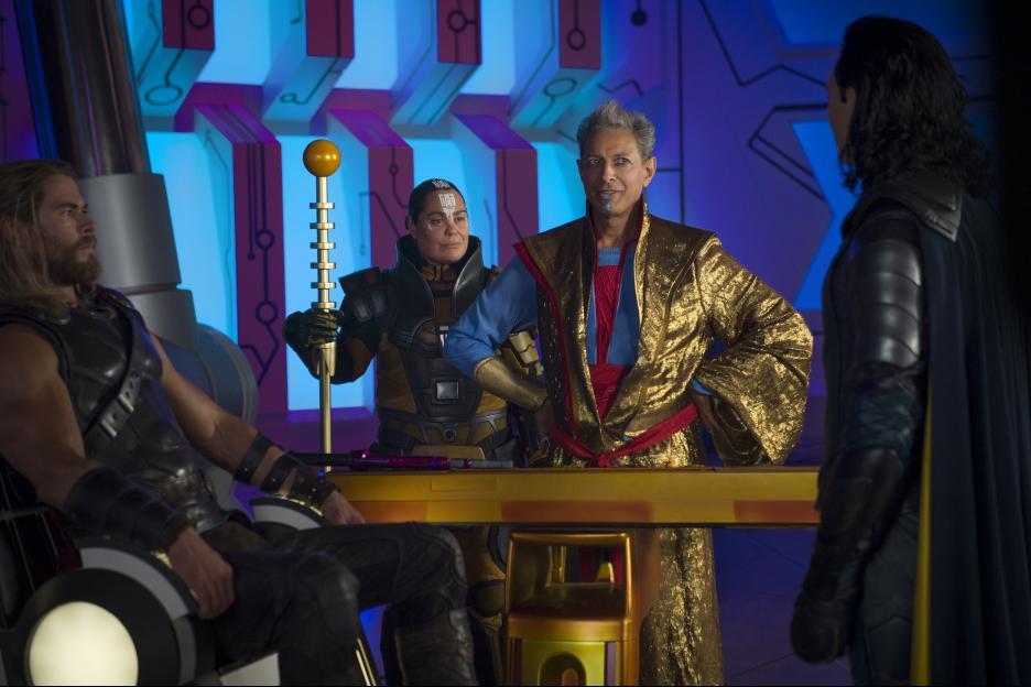 Thor: Ragnarok The Grandmaster Jeff Goldblum