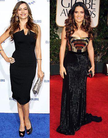 Cine Latino: Sofia Vergara vs  Salma Hayek? Plus, Win