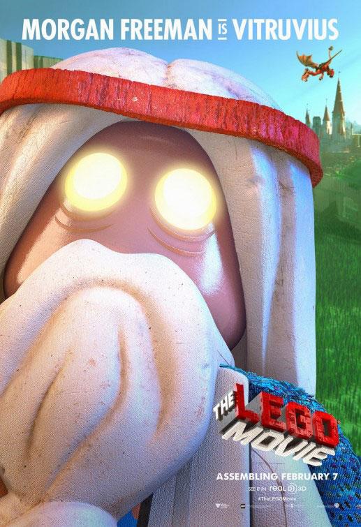 Batman, Vitruvius and More New 'Lego Movie' Character Posters | Fandango