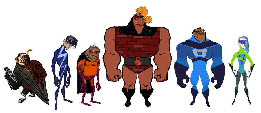 The Incredibles 2 concept art