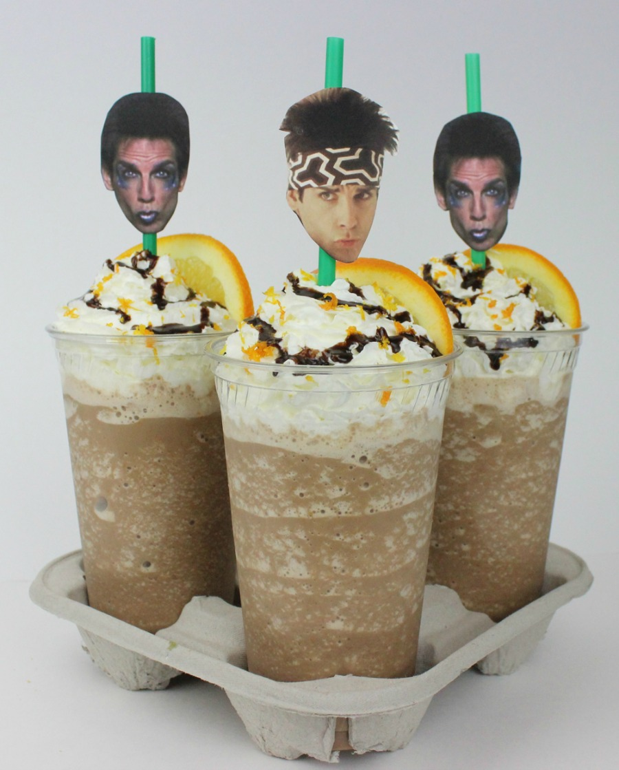Movie Night Bouquet With Drinks: Date Night Drink: Zoolander Frappes, Anyone?
