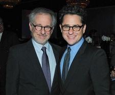 Steven Spielberg and J.J. Abrams