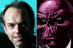 Hugo Weaving as Red Skull?