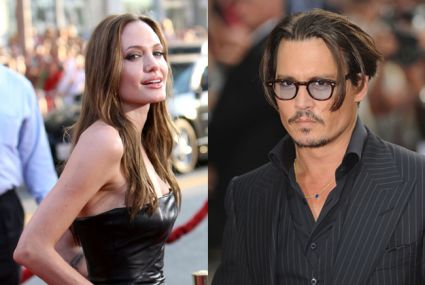 Angelina Jolie and Johnny Depp Depp to Team with Real-Life Lover in 'My