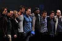 'The Avengers' cast