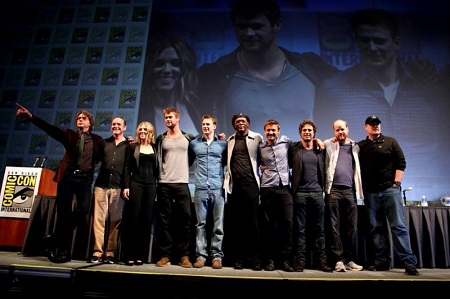 'The Avengers' at Comic-Con 2010