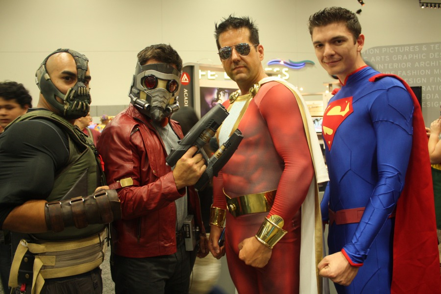 banestarlordflashsuperman The Best of Comic Con: Batman, The Rock, Interstellar and More