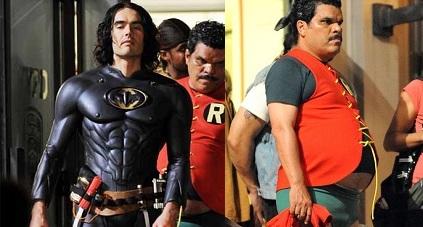 Russell Brand is 'Batman?!'