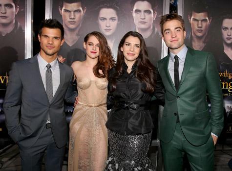 Taylor Lautner, Kristen Stewart, Stephenie Meyer, Robert Pattinson