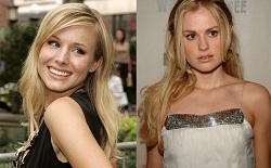 Kristen Bell and Anna Paquin