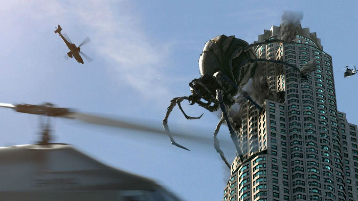 Odeite: flies and spiders in modern cities 48