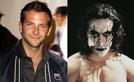Bradley Cooper as The Crow?