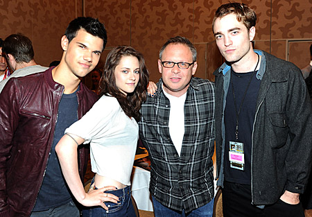 Taylor Lautner, Kristen Stewart, Bill Condon, Robert Pattinson