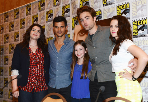 Breaking Dawn Cast at Comic-Con 2012
