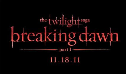 Title graphic for 'The Twilight Saga: Breaking Dawn, Part 1'