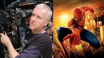 James Cameron Mentoring Spidey?