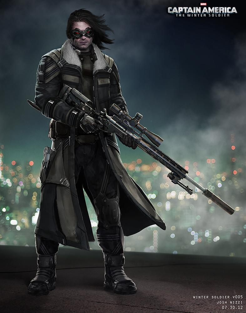 Concept Art Super Soldier