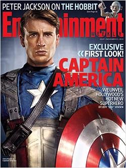 Chris Evans as 'Captain America'