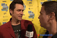 Jim Carrey at The Incredible Burt Wonderstone Premiere at SXSW.