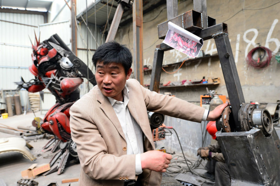 Transformers / Chinese Villager