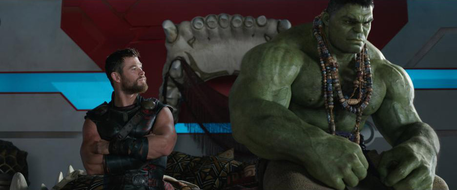 Thor: Ragnarok Thor Hulk Chris Hemsworth Mark Ruffalo