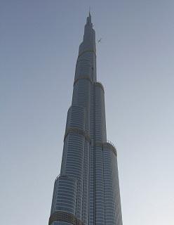 Dubai's Burj Khalifa tower