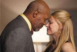 Samuel L. Jackson and Naomi Watts in 'Mother and Child'