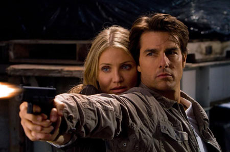 Cameron Diaz and Tom Cruise in 'Knight and Day'