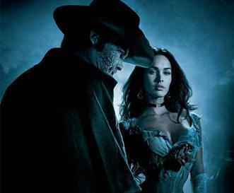 Josh Brolin and Megan Fox in 'Jonah Hex'
