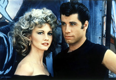 Olivia Newton-John and John Travolta in 'Grease'