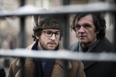Guillaume Canet and Emir Kusturica in 'Farewell'