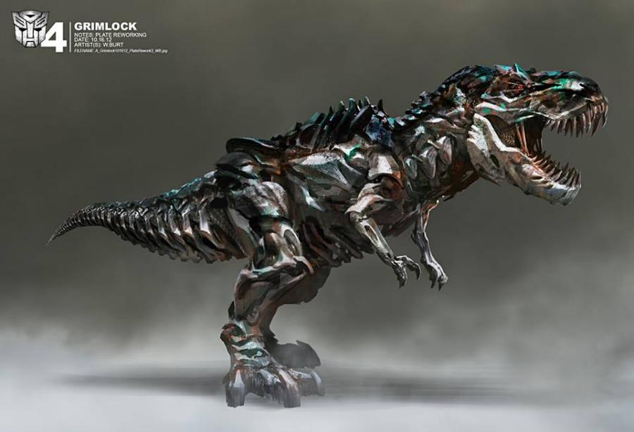 Grimlock & Optimus Prime Statues from Transformers: Age of ... |Transformer 4 Age Of Extinction Grimlock