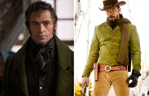 django unchained and les miserables � rate them