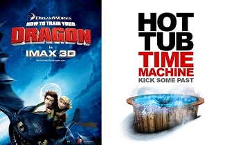 'How to Train Your Dragon' and 'Hot Tub Time Machine'